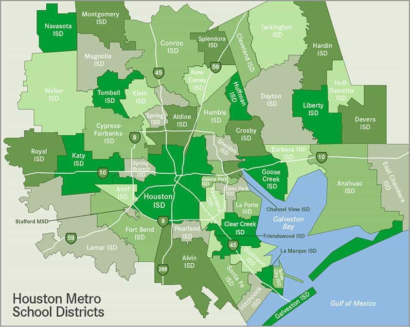 Houston School District Map Houston School Districts | Ameritex Movers | Houston Family Resources Houston School District Map